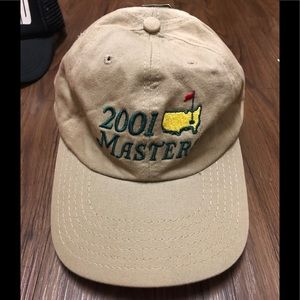 masters Accessories - ⛳️ '01 Masters golf hat NWT